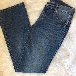 *OLD NAVY PETITE STONEWASHED JEANS
